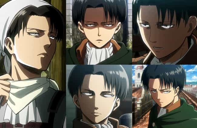 Levi From Attack On Titan is listed (or ranked) 1 on the list Anime Characters With The Least Expressive Faces