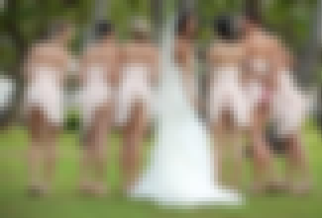 Bridesmaids: 2 is listed (or ranked) 1 on the list The Dirtiest Wedding Photos Ever Taken