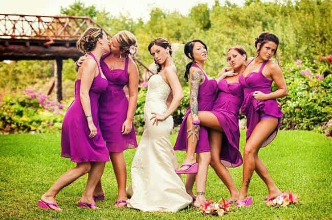 Maids to Order is listed (or ranked) 2 on the list The Dirtiest Wedding Photos Ever Taken