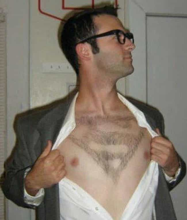 Super Shave is listed (or ranked) 3 on the list 26 Gross Examples Of Body Hair Art That Are Just Not Okay