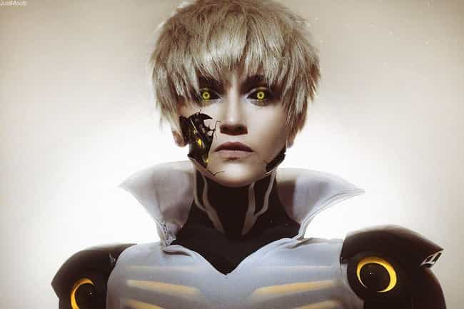 Hyper-Realistic Genos is listed (or ranked) 2 on the list One-Punch Man Cosplay That Will Knock You Out