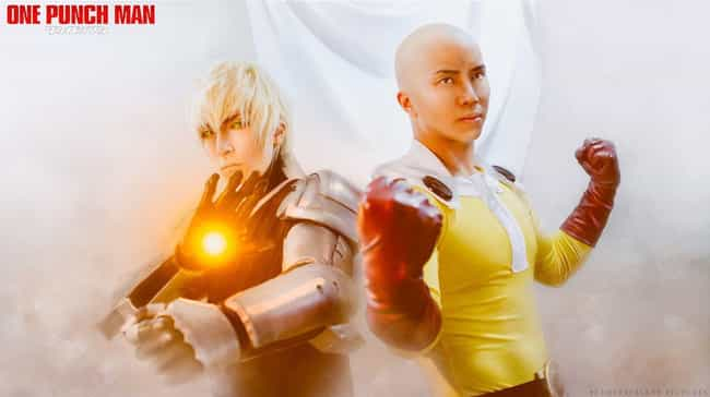 Genos And Saitama is listed (or ranked) 3 on the list One-Punch Man Cosplay That Will Knock You Out