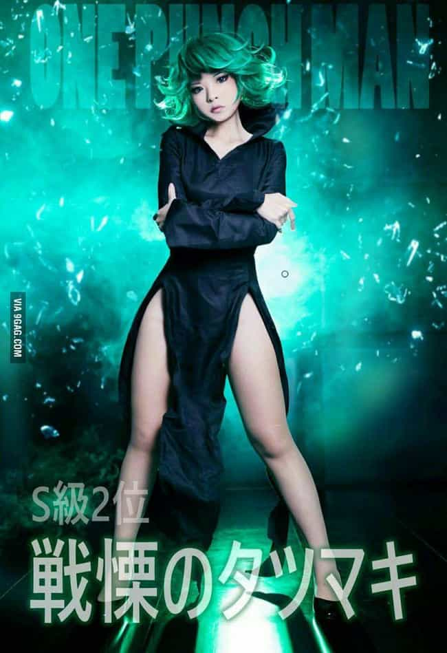Tatsumaki Fighting Stanc... is listed (or ranked) 1 on the list One-Punch Man Cosplay That Will Knock You Out
