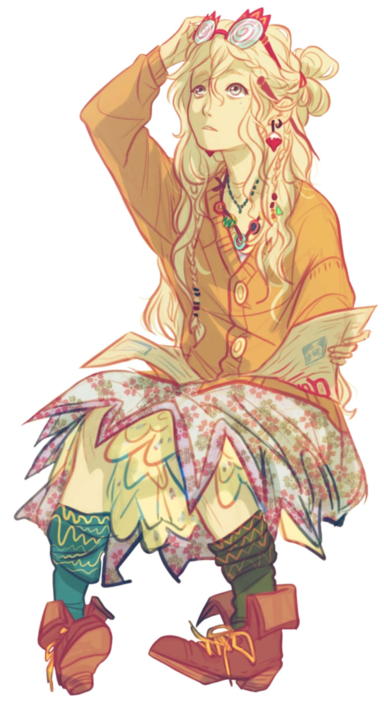 Luna Lovegood Anime is listed (or ranked) 2 on the list 24 Anime Versions Of Harry Potter Characters You Wish Were From A Real Anime