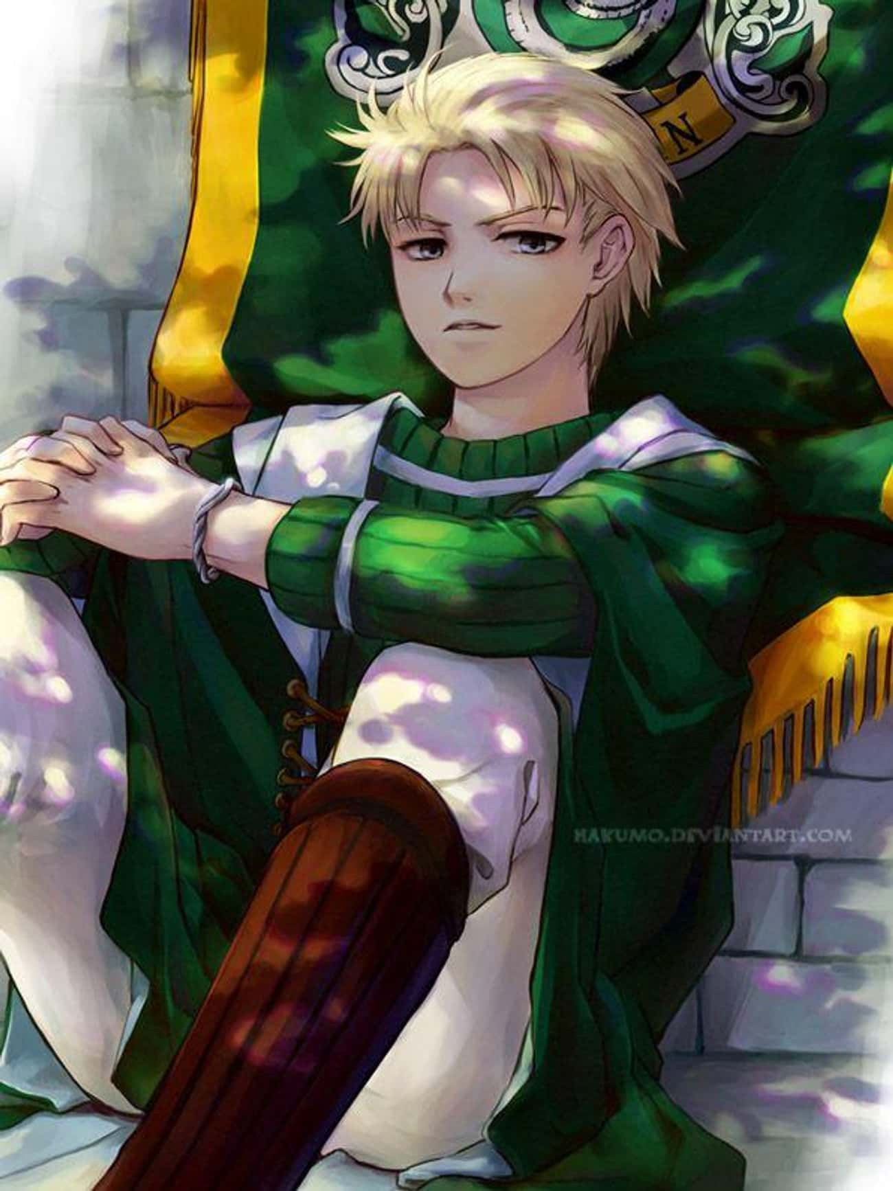 Draco Malfoy is listed (or ranked) 3 on the list 24 Anime Versions Of Harry Potter Characters You Wish Were From A Real Anime