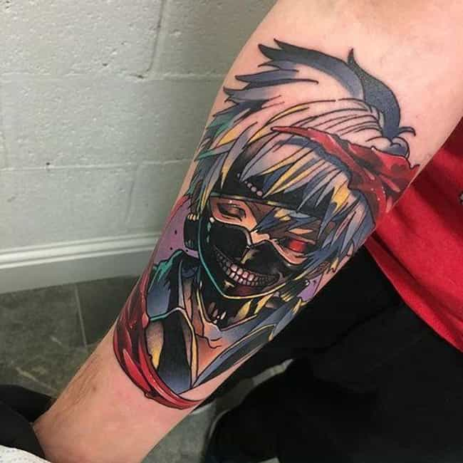 Tatuajes Anime 30 beautiful anime tattoos that are works of art