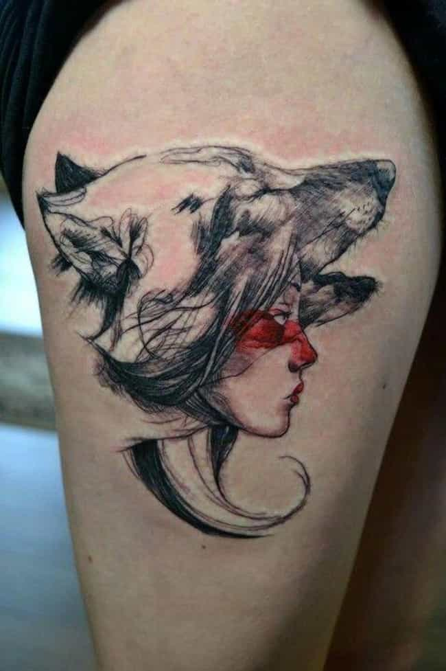 30 Beautiful Anime Tattoos That Are Works Of Art