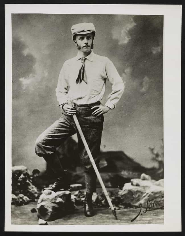 Theodore Roosevelt Mountain Cl... is listed (or ranked) 4 on the list 25 Awesome Photos of Early 1900s Mountain Climbers