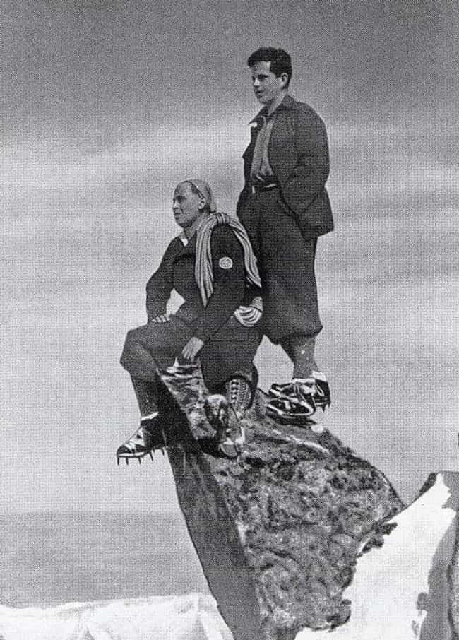 Two Slovakian Climbers, 1940 is listed (or ranked) 1 on the list 25 Awesome Photos of Early 1900s Mountain Climbers