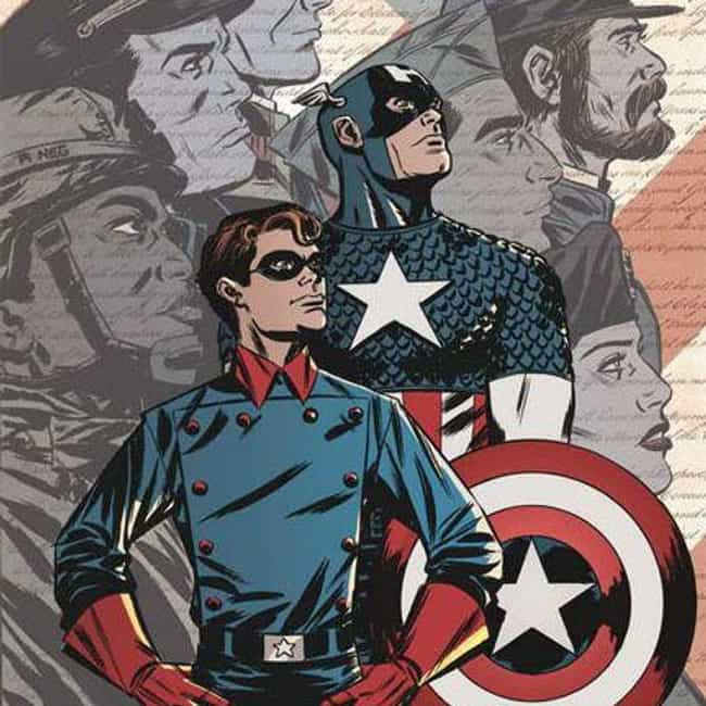 Steve Rogers And Bucky Barnes is listed (or ranked) 4 on the list 15 Adorable Marvel Superhero BFFs That Are Total Friendship Goals