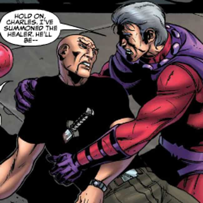 Professor X And Magneto is listed (or ranked) 4 on the list 15 Adorable Marvel Superhero BFFs That Are Total Friendship Goals