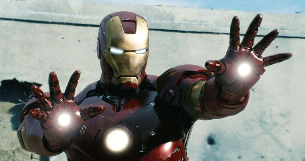 Mark III is listed (or ranked) 1 on the list All 30 Iron Man Suits That Have Appeared On Screen
