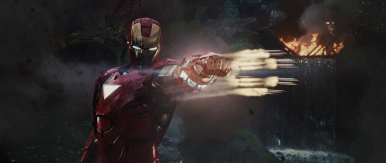 Mark VI is listed (or ranked) 4 on the list All 30 Iron Man Suits That Have Appeared On Screen