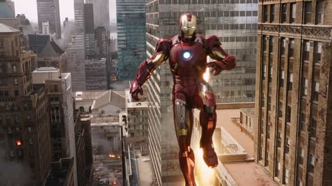 Mark VII is listed (or ranked) 3 on the list All 30 Iron Man Suits That Have Appeared On Screen
