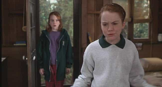 The Children Have No Act... is listed (or ranked) 3 on the list 18 Reasons The Parent Trap Is Actually Really Messed Up
