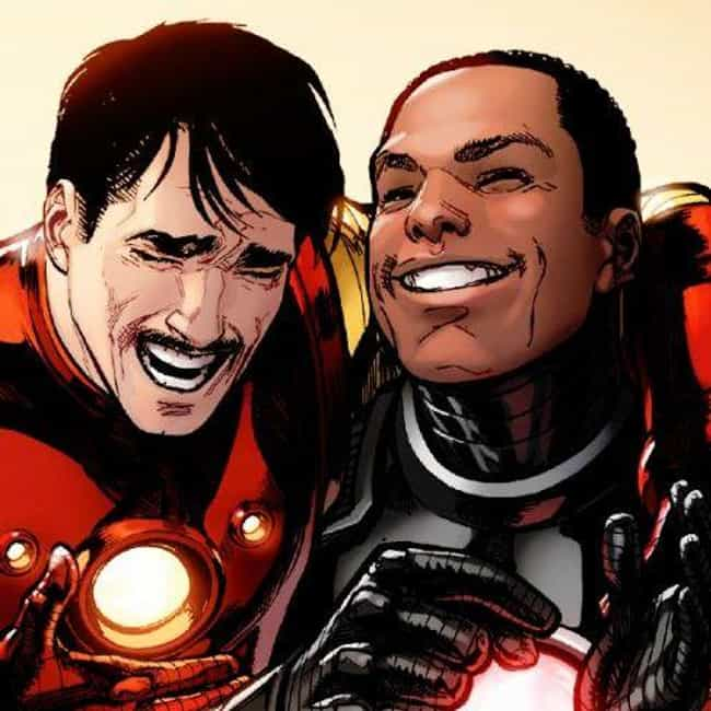 "Tony Stark And James ""Rhod... is listed (or ranked) 3 on the list 15 Adorable Marvel Superhero BFFs That Are Total Friendship Goals"