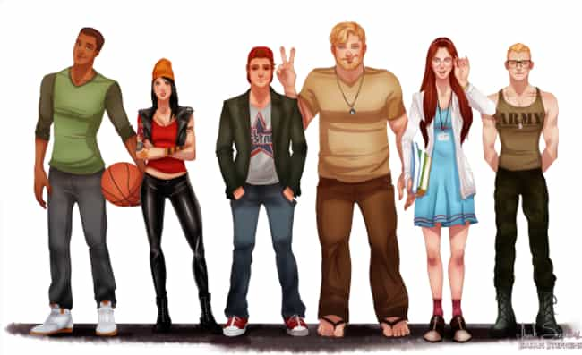 Recess is listed (or ranked) 1 on the list Your Favorite '90s Cartoon Characters All Grown Up