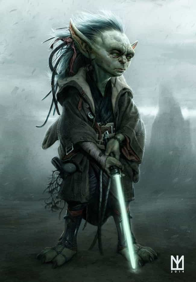 Yoda is listed (or ranked) 1 on the list 16 Old Characters Reimagined As Youngsters Through Fan Art