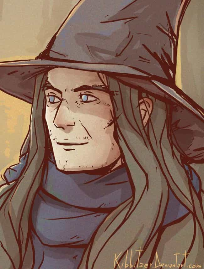 Young Gandalf is listed (or ranked) 4 on the list 16 Old Characters Reimagined As Youngsters Through Fan Art