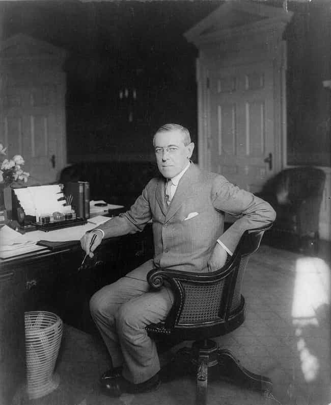 Woodrow Wilson, 1913–1921 is listed (or ranked) 2 on the list 19 Photos Of What The Oval Office Looked Like Under Different Presidents