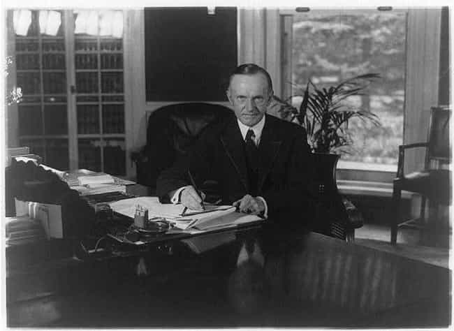 Calvin Coolidge, 1923–1929 is listed (or ranked) 4 on the list 19 Photos Of What The Oval Office Looked Like Under Different Presidents