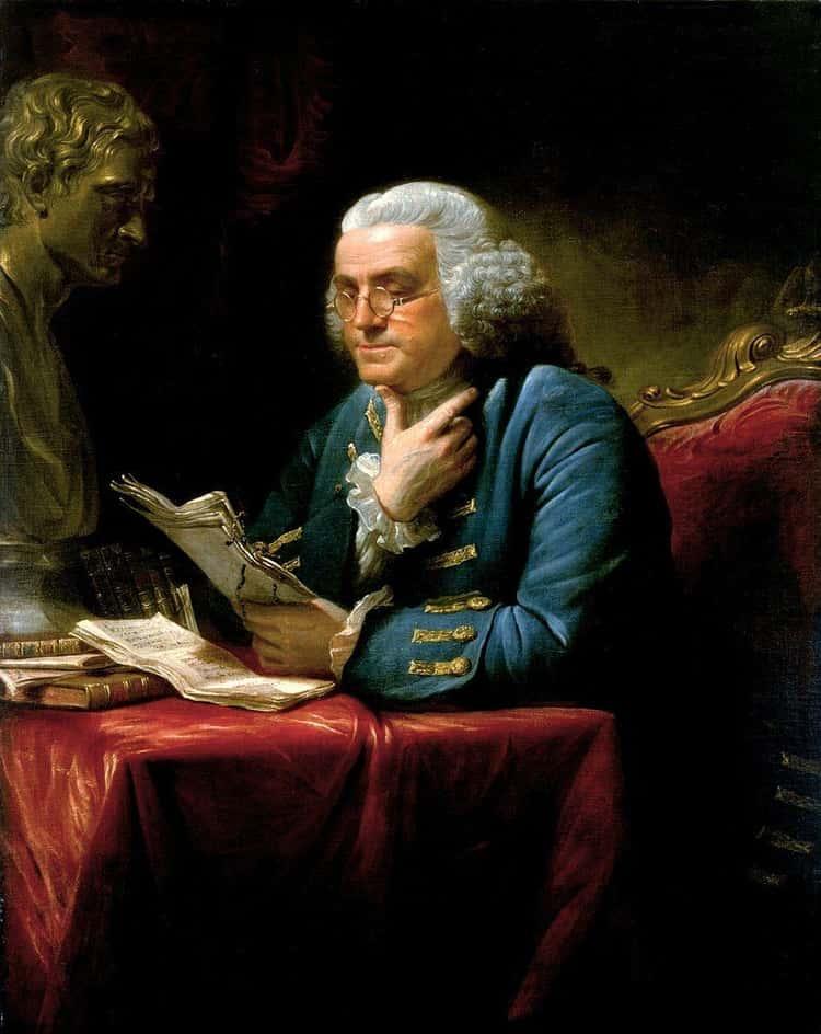 Benjamin Franklin Offered Indelicate Advice