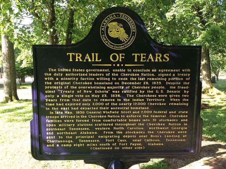He Signed The Order For The Trail Of Tears