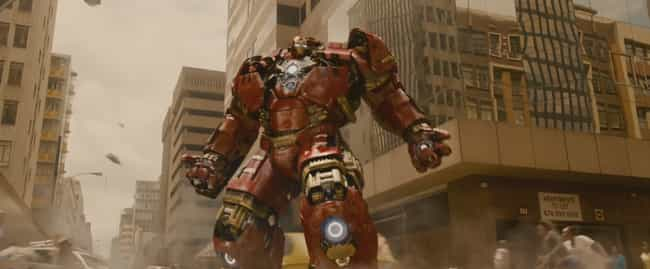 Hulkbuster (Mark XLIV) is listed (or ranked) 2 on the list All 30 Iron Man Suits That Have Appeared On Screen