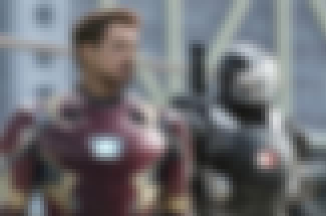Mark XLVI is listed (or ranked) 2 on the list All 30 Iron Man Suits That Have Appeared On Screen