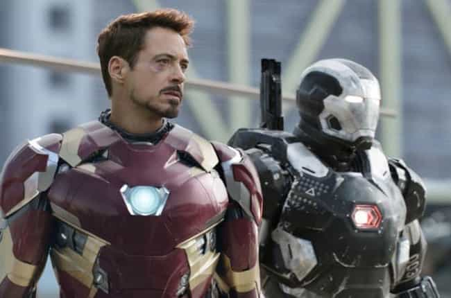 Mark XLVI is listed (or ranked) 1 on the list All 30 Iron Man Suits That Have Appeared On Screen