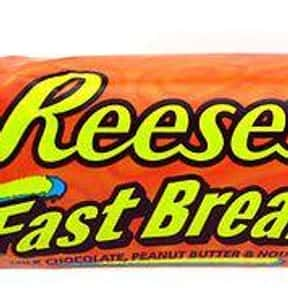 Reese's Fast Break is listed (or ranked) 10 on the list The Best Hershey Bar Flavors