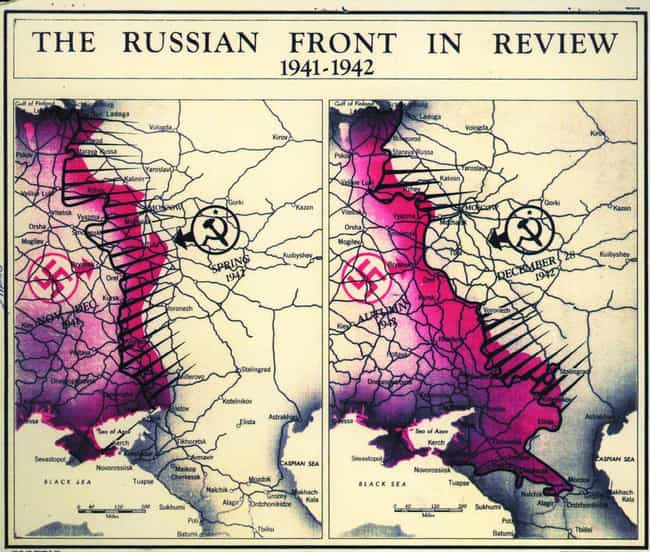 Russian Front, 1942 is listed (or ranked) 1 on the list Declassified CIA Maps Reveal Top Secret 20th Century Cartography
