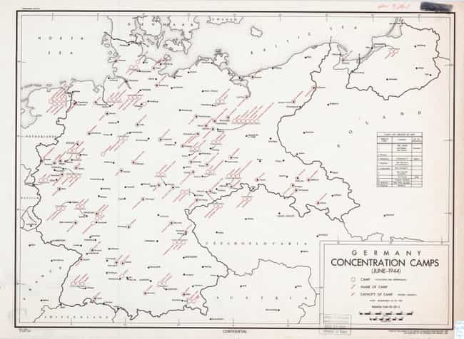 German Concentration Cam... is listed (or ranked) 2 on the list Declassified CIA Maps Reveal Top Secret 20th Century Cartography