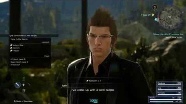 Ignis's Eureka Moments A... is listed (or ranked) 5 on the list Reasons Why Final Fantasy XV Is Just Killing Players