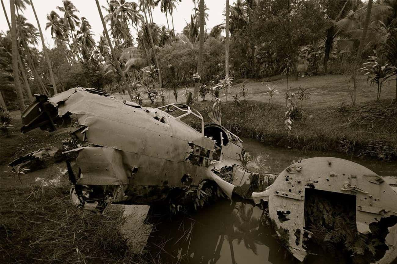 WWII History Is Preserved In T is listed (or ranked) 2 on the list 10 Creepy Plane Wreckages In Remote Areas You Can Visit Today