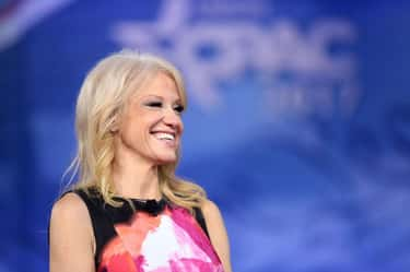 She Learned Everything She Kno is listed (or ranked) 1 on the list Everything Kellyanne Conway Did Before She Boarded The Trump Train