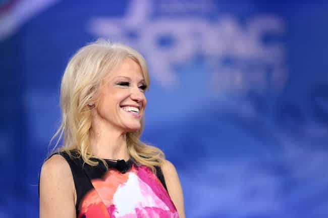 She Learned Everything She Kno... is listed (or ranked) 1 on the list Everything Kellyanne Conway Did Before She Boarded The Trump Train