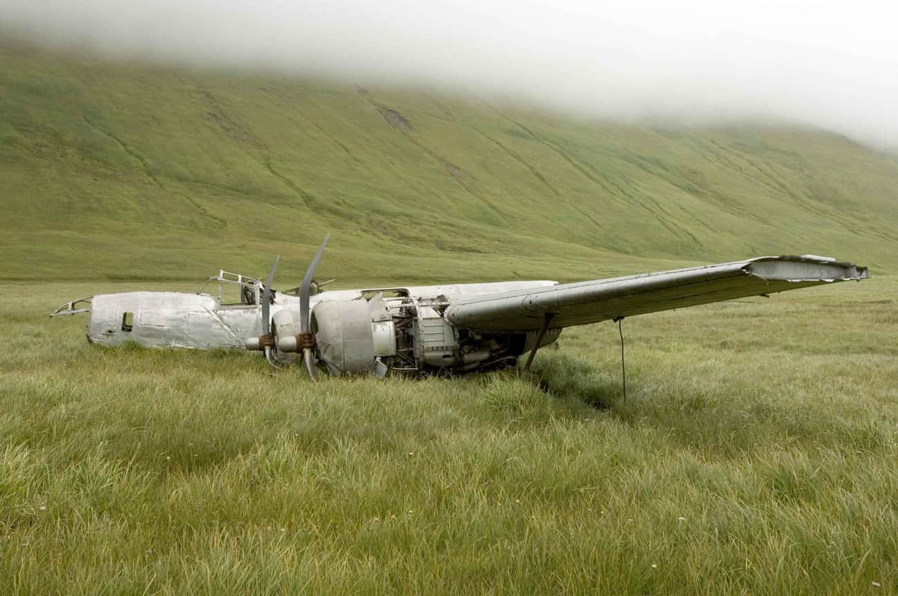 An Alaskan Aviation Relic Is A is listed (or ranked) 4 on the list 10 Creepy Plane Wreckages In Remote Areas You Can Visit Today