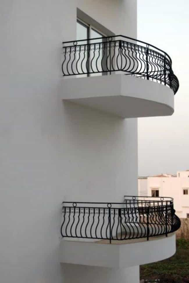 This Balcony is listed (or ranked) 3 on the list The Most Utterly Useless Things Ever Made