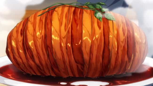 """Gotcha! Pork Roast is listed (or ranked) 2 on the list 30 """"Food Wars!"""" Meals, Ranked By How Orgasmic They Were"""