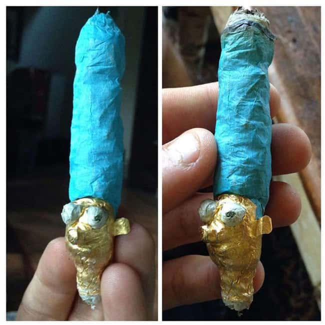 Medical Marge is listed (or ranked) 13 on the list Insanely Creative And Totally Smokeable Joints