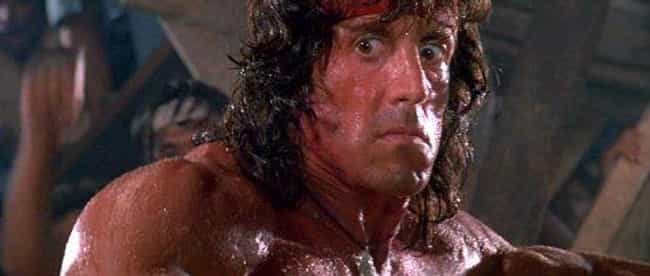 The Italian Stallion Fir... is listed (or ranked) 4 on the list The Making Of The Rambo Series Was Plagued With Absolute Insanity