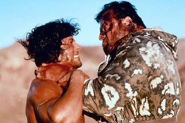Stallone Claims Rambo III Turn... is listed (or ranked) 7 on the list The Making Of The Rambo Series Was Plagued With Absolute Insanity