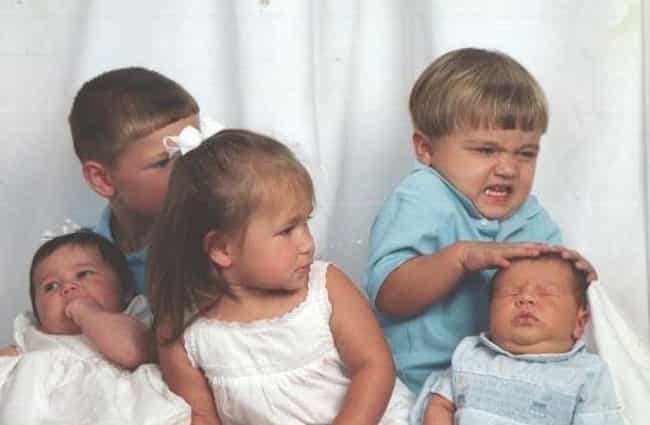 I Have Exorcised The Dem... is listed (or ranked) 1 on the list 25 Unintentionally Hilarious Times Kids Ruined Family Portraits