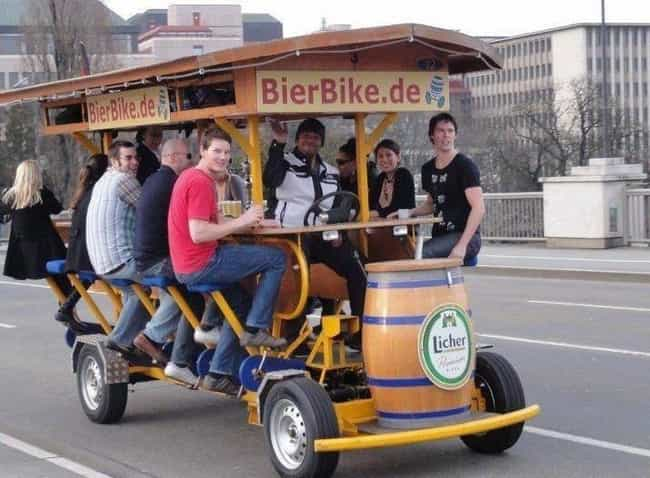 The Barmobile is listed (or ranked) 4 on the list Pictures That Could Only Be Taken In Germany