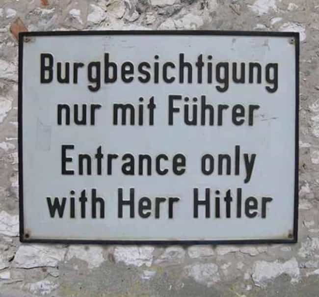 Hitler Or Miss is listed (or ranked) 3 on the list Pictures That Could Only Be Taken In Germany