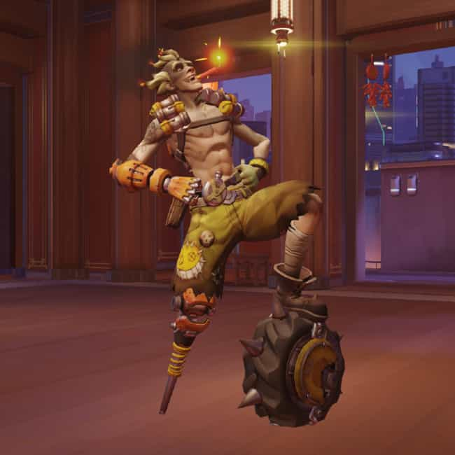 Junkrat - Bad For Your Health is listed (or ranked) 4 on the list Every Overwatch Victory Pose, Ranked