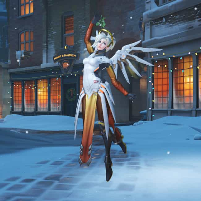 Mercy - Mistletoe is listed (or ranked) 3 on the list Every Overwatch Victory Pose, Ranked