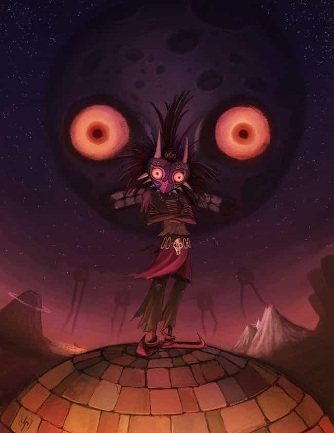 The Skull Kid is listed (or ranked) 3 on the list 23 Gorgeous Zelda Art Pieces You Would Hang In Your Room