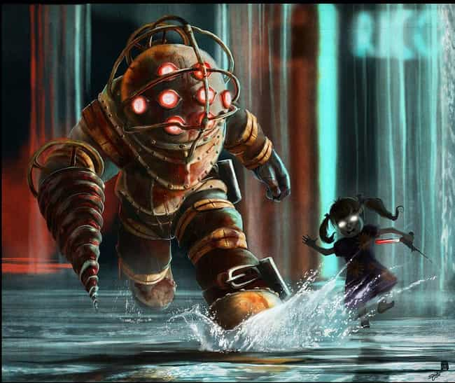 Splish Splash, Mr. B! is listed (or ranked) 1 on the list 25 Brilliant Pieces Of Bioshock Fan Art